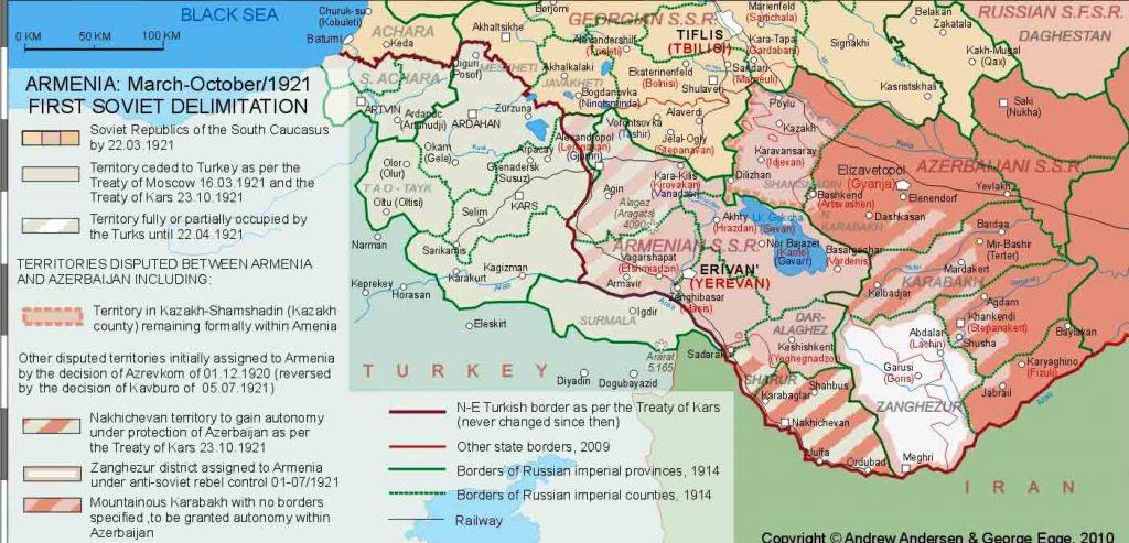 Gümrü haritası