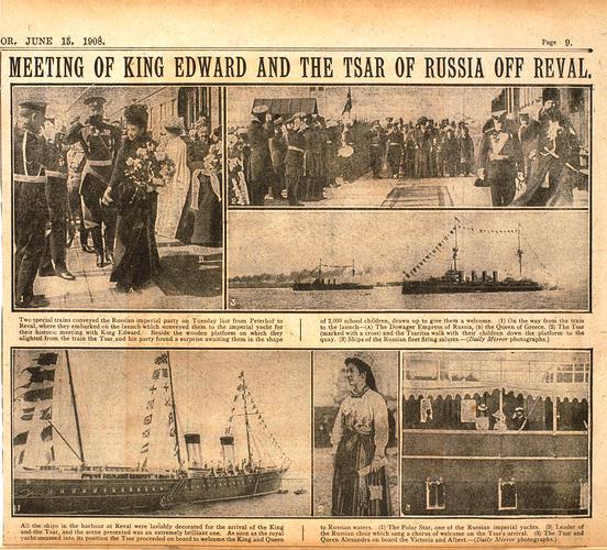 Reval görüşmeleri 1908